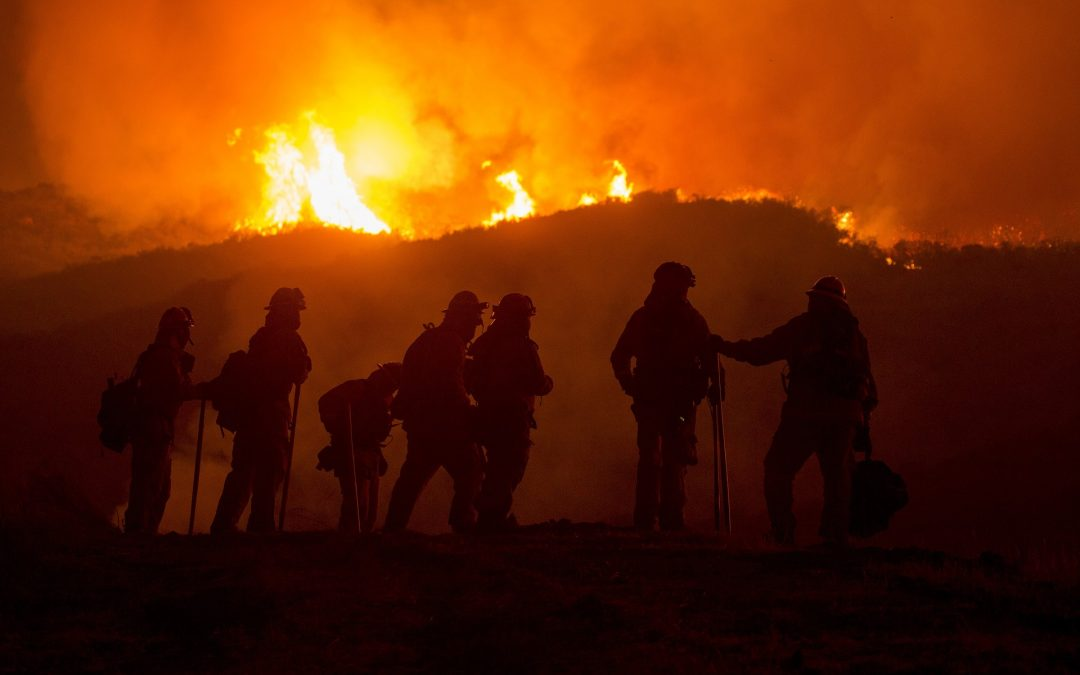 California Fires and Inclement Weather